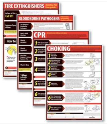 Lifesaving Posters for Workplace Compliance by ComplyRight - ZBP Forms
