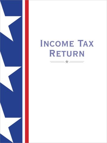 Tax Folder with Bold, Stars and Stripes Design to Make a Professional Statement for Accountants and CPAs #SSF10 - ZBP Forms
