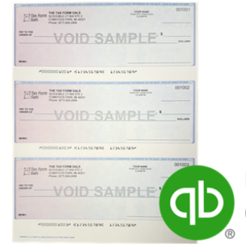 3up Checks for QuickBooks software - ZBPForms.com